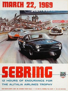 Sebring 1969 Poster