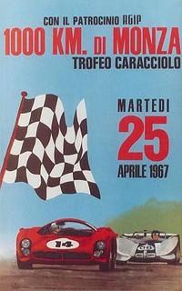 Monza 1967 Poster