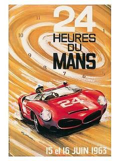 24 Heures du Mans 1963 Poster