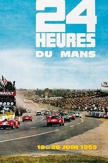 24 Heures du Mans 1965 Poster
