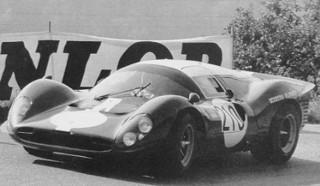 Ollon-Villars 1967 Ferrari P3/412 P Müller