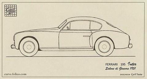 Ferrari 195 Inter Coupé Ghia