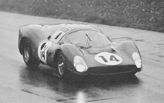 Monza 1966 Ferrari 330 P3 Surtees Parkes