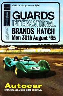Guards Trophy 1965 Poster