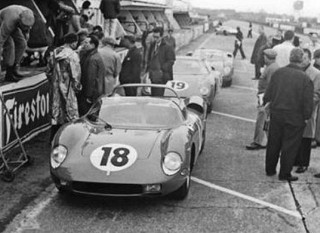 Essais du Mans 1964 Ferrari 275 P-63 Scarfiotti