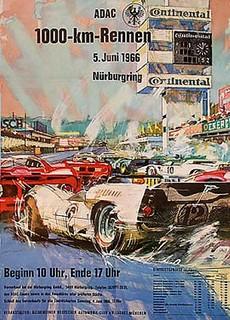 Nürburgring 1966 Poster