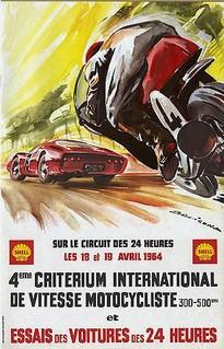Essais du Mans 1964 Poster