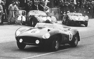 1957 24 Heures du Mans 335 S Collins-Hill