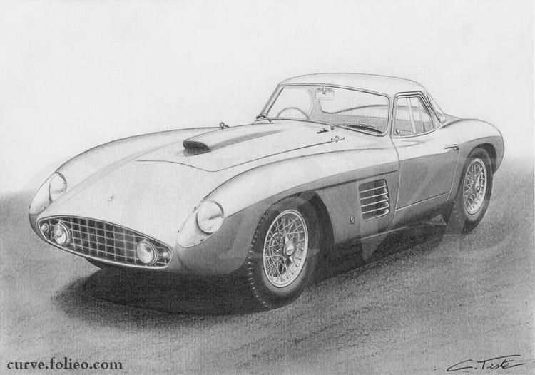 Ferrari 375 MM Coupe Speciale Scaglietti