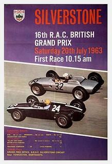 Silverstone 1963 Poster