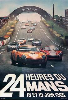 24 Heures du Mans 1966 Poster