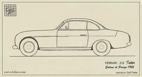 Ferrari 212 Inter Coupé speciale Ghia 0233/EU