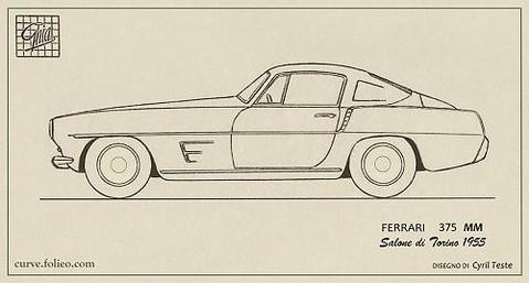 Ferrari 375 MM Coupé Speciale Ghia 0476/AM