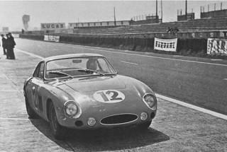Essais du Mans 1963 Ferrari 330 LMB Parkes Mairesse Bandini