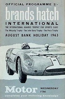 Guards Trophy 1963 Poster