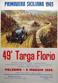 Targa Florio 1965 Poster
