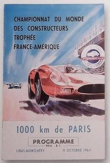 Montlhéry 1964 Poster