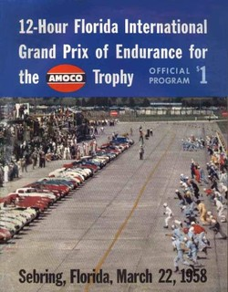1958 Sebring Poster