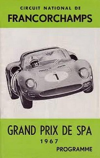 Spa-Francorchamps 1967 Poster