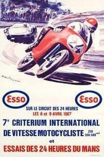 Essais du Mans 1967 Poster
