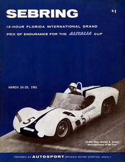 1961 Sebring Poster
