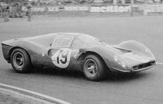 24 Heures du Mans 1967 Ferrari 330 P4 Klass Sutcliffe