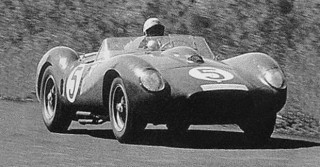 1958 Nürburgring 1000 km Ferrari 250 TR Musso-Hill