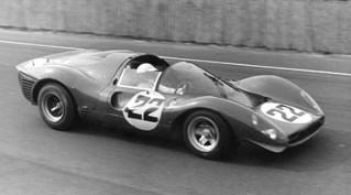 Essais du Mans 1967 Ferrari 330 P3/P4 Bandini
