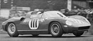 Nürburgring 1963 Ferrari 250 P Parkes Scarfiotti