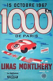 Montlhéry 1967 Poster
