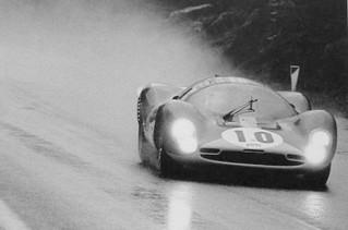 Spa-Francorchamps 1967 Ferrari 412 P Bianchi Attwood