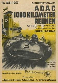 1957 Nürburgring Poster