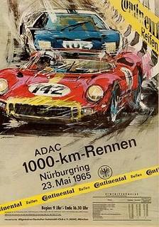 Nürburgring 1965 Poster