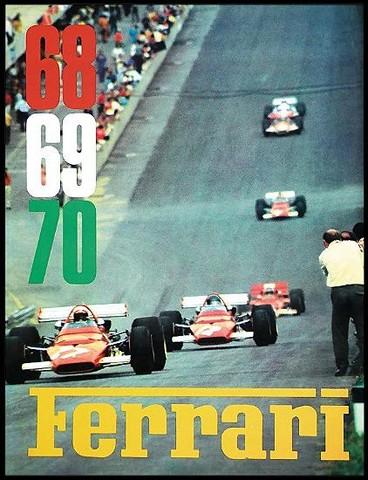 Annuaire Ferrari 1968-1969-1970