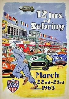 Sebring 1963 Poster
