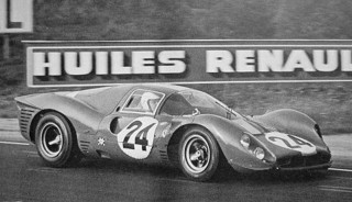 24 Heures du Mans 1967 Ferrari 330 P4 Mairesse Beurlys