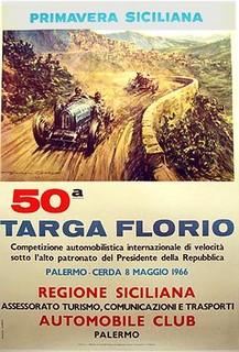Targa Florio 1966 Poster