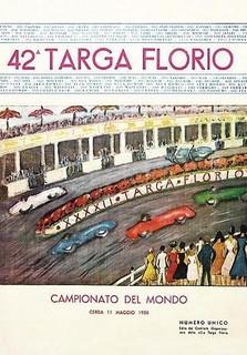 1958 Targa Florio Poster
