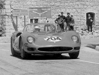 Targa Florio 1965 Ferrari 275 P2 Guichet Baghetti