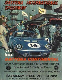 Daytona 1965 Poster