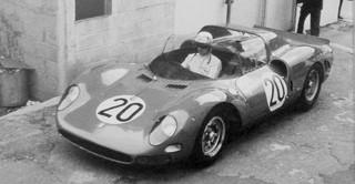 Essais du Mans 1965 Ferrari 275 P2 Surtees Vaccarella Parkes Scarfiotti Bandini