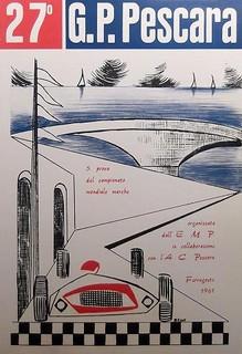 1961 Pescara Poster