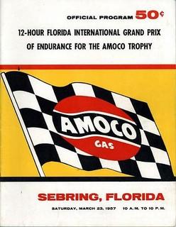 1957 Sebring Poster