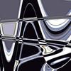 Sous-verre réalisé en subligraphie de 11cm x11cm