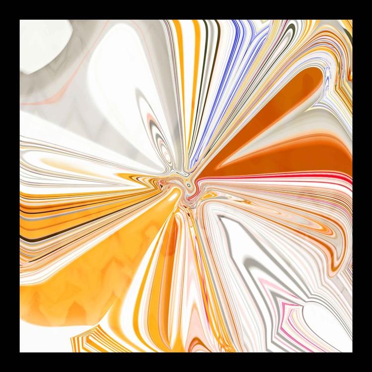 Fleur de vie orange