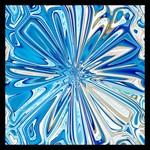 Blue flower of life