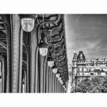 Les luminaires du Pont de Bir-Hakeim - Paris